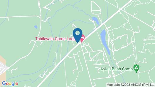LookOut Safari Lodge Map