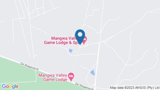 Mangwa Valley Game Lodge Map