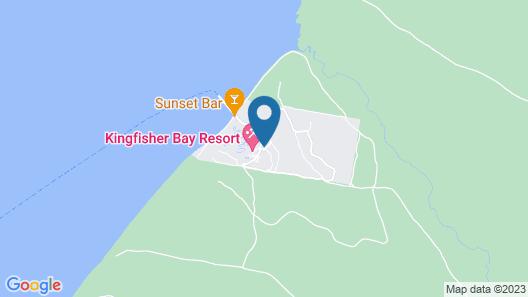 Mercure Kingfisher Bay Resort Fraser Island Map