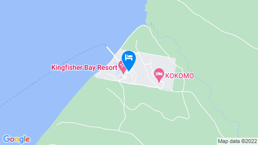 Kingfisher Bay Resort Map
