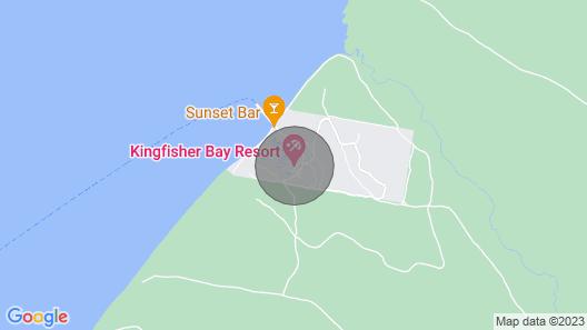 Banksia 535 Villa at Kingfisher Bay Resort, Fraser Island Qld, Australia Map
