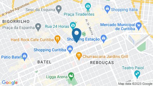 NH Curitiba The Five Map