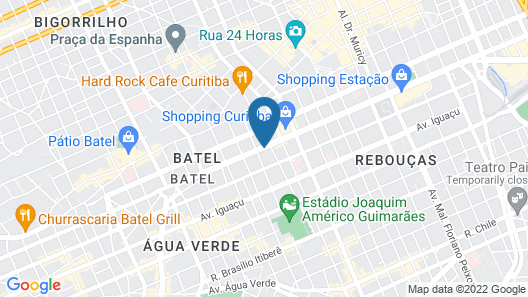 Four Points by Sheraton Curitiba Map