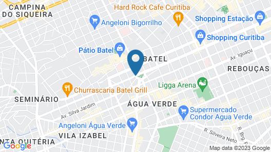 Radisson Hotel Curitiba Map