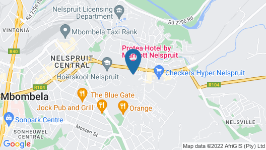 Protea Hotel by Marriott Nelspruit Map