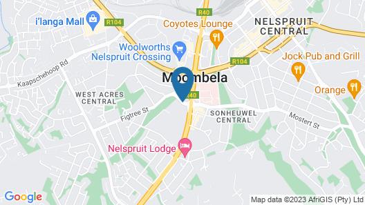 Town Lodge Mbombela Map