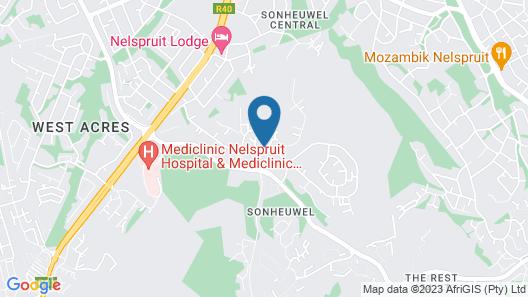 Leaves Lodge & Spa Map
