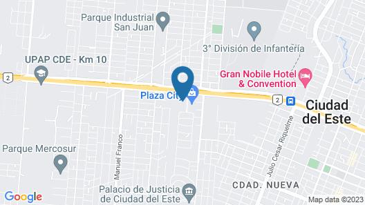 Dazzler by Wyndham Ciudad del Este Map
