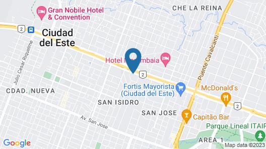 Asunción Gran Hotel Map