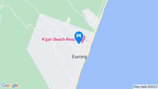 Eurong Beach Resort Map
