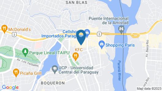 Rio Hotel by Bourbon Ciudad del Este Map