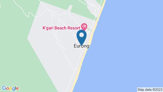 Fraser Island Beach Houses Map