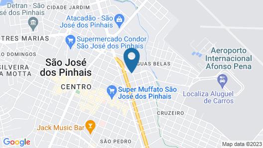 ibis Curitiba Aeroporto Map