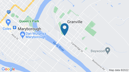 Granville Tavern and Motel Map