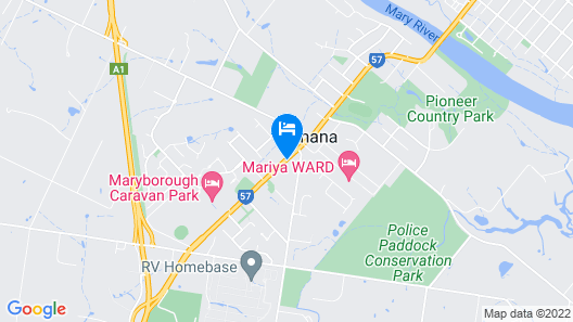 Ned Kelly's Motel Map