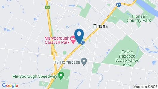 Westside Tavern and Motel Map