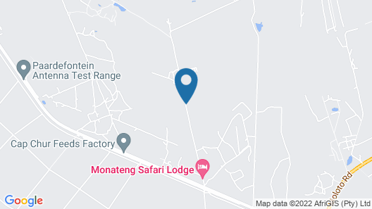 Monateng Safari Lodge Map