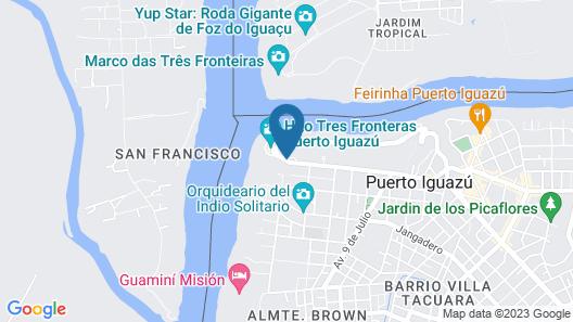 Amérian Portal del Iguazú Hotel Map