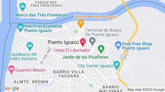 Flora Apartments Map