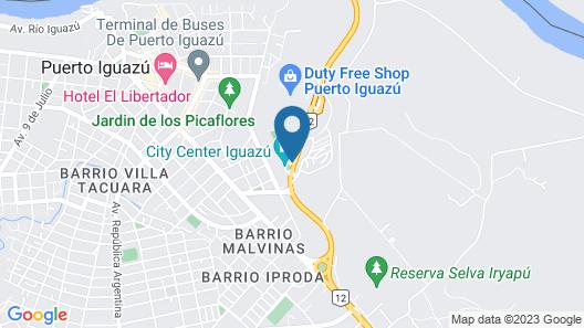Iguazu Grand Resort Spa & Casino Map