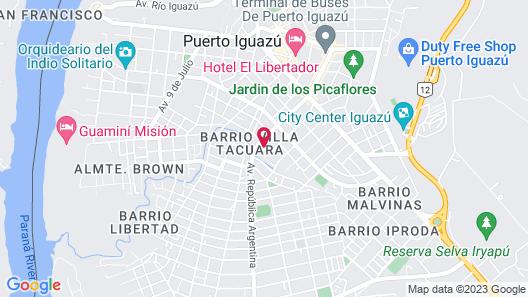 Lo de Carmen Apart Map
