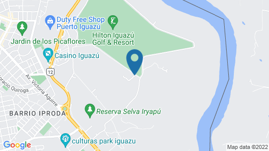 La Cantera Lodge de Selva by DON Map