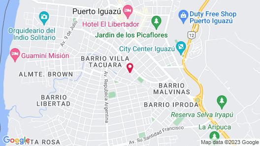 Z Apart Iguazu Map