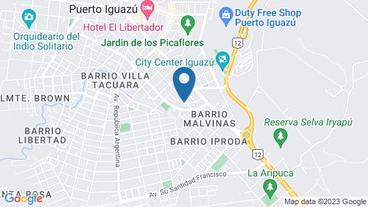 Residencial Los Lapachos Map