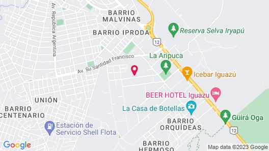 Cabanas EL Refugio DEL Mensu Map