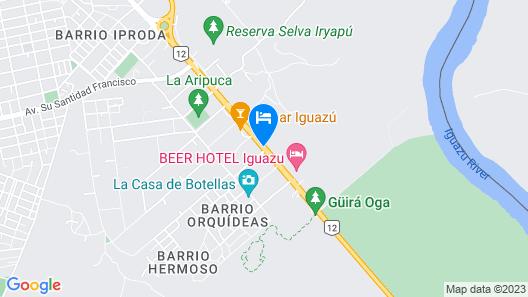 Gran Hotel Tourbillon Cataratas Map