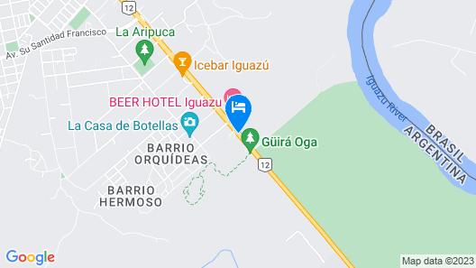 Complejo Turistico Americano Map