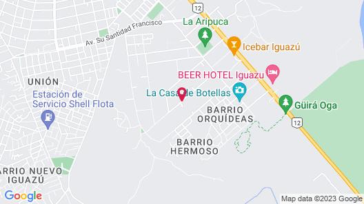 Quinta y Cabaña La Tranquilidad Map