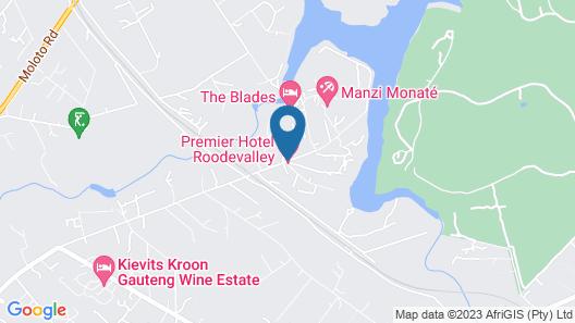 Premier Hotel Roodevalley Map