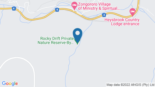 Rockydrift Private Nature Reserve Map
