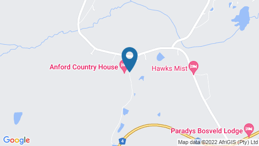 Anford Country House Map