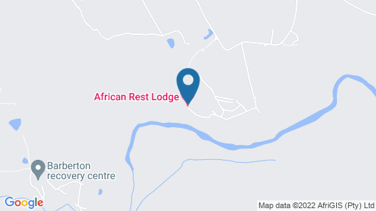 African Rest Lodge Map