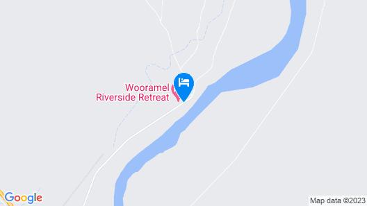 Wooramel Riverside Retreat - Campground Map