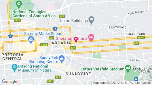 Premier Hotel Pretoria Map