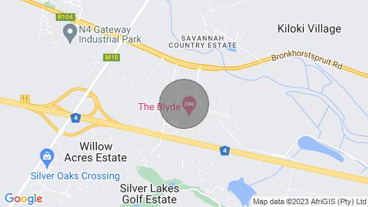Keyless Entry-the Blyde . Pretoria Map