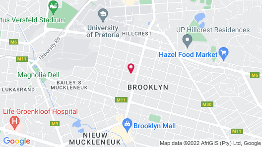 Brooklyn Guesthouses Map