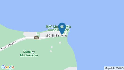 RAC Monkey Mia Dolphin Resort Map