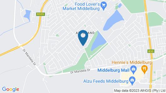 Alveston Manor Map