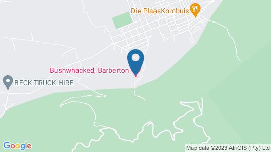 BUSHWHACKED BARBERTON Map