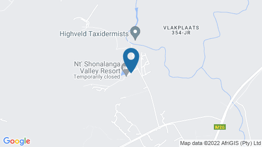 nt' Shonalanga Valley Resort & Spa Map