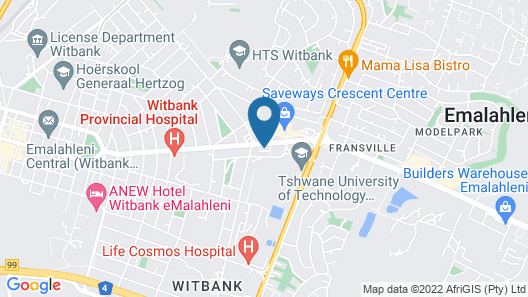 ANEW Hotel Highveld Map