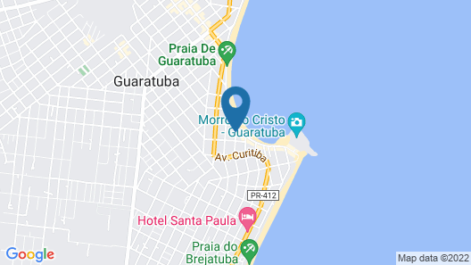 Hotel Pousada Porto da Lua Map