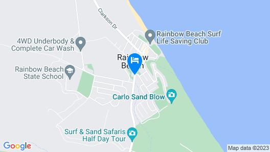 Rainbow Sands Resort Map