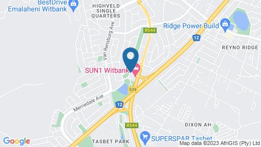 SUN1 Witbank Map