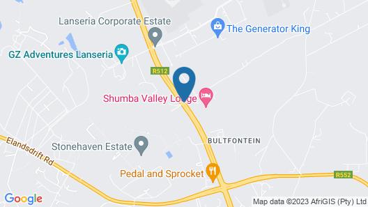 Shumba Valley Lodge Map