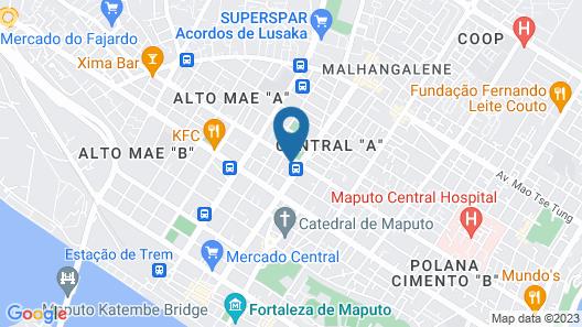 Vila das Acácias Map